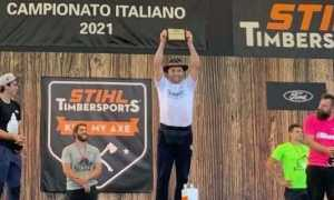 Andrea Rossi Stihl timbersport