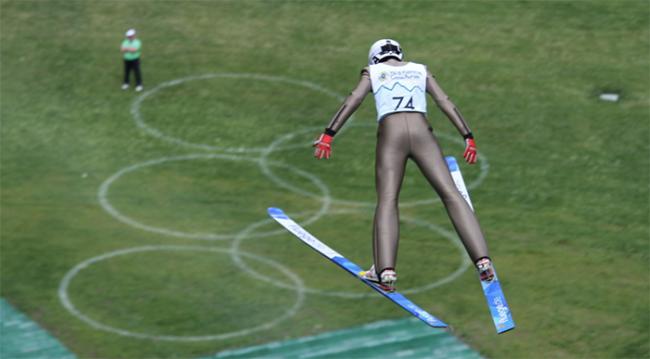 salto sci comazzi predappio trampolino