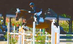 b piovani salto cavallo