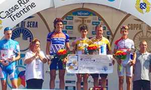 b rubino podio oro pedale